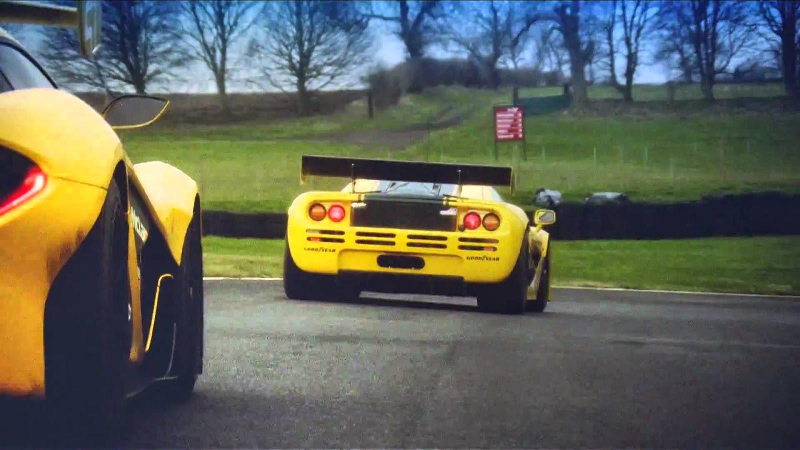 McLaren2BP125E2258425A22BGTR2Bmeets2Bthe2Biconic2BMcLaren2BF12BGTR Η McLaren P1 GTR των 1000 ίππων συναντά τον θρύλο McLaren F1 GTR στην πίστα mclaren, mclaren f1, mclaren f1 gtr, videos