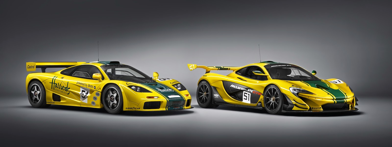 McLaren2BP12BGTR2Bmeets2Bthe2Biconic2BMcLaren2BF12BGTR Η McLaren P1 GTR των 1000 ίππων συναντά τον θρύλο McLaren F1 GTR στην πίστα mclaren, mclaren f1, mclaren f1 gtr, videos