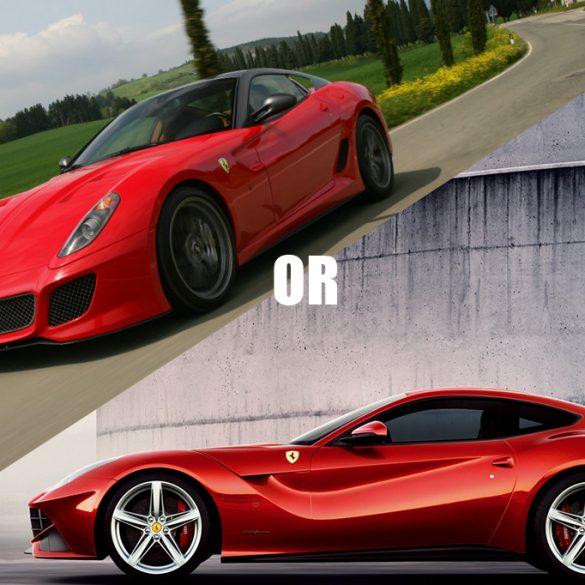 Ferrari2BF122BBerlinetta2Bvs2BFerrari2B5992BGTO Δείτε την Ferrari F12 Berlinetta ενάντιον μιας Ferrari 599 GTO