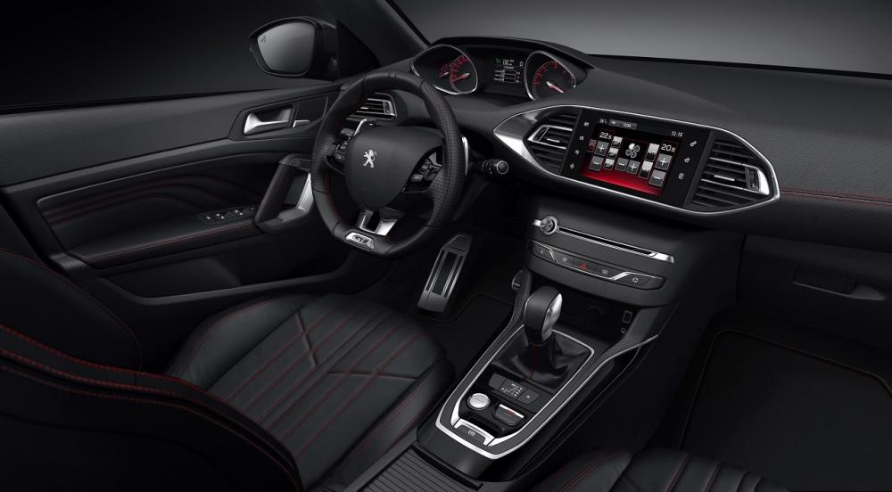 Peugeot 308 GTi interior H Peugeot λέει ότι βίδωσε το 308 Gti στο δρόμο Peugeot, Peugeot 308, Peugeot 308 Gti, Peugeot 308 Gti by Peugeot Sport, zblog, επιδόσεις