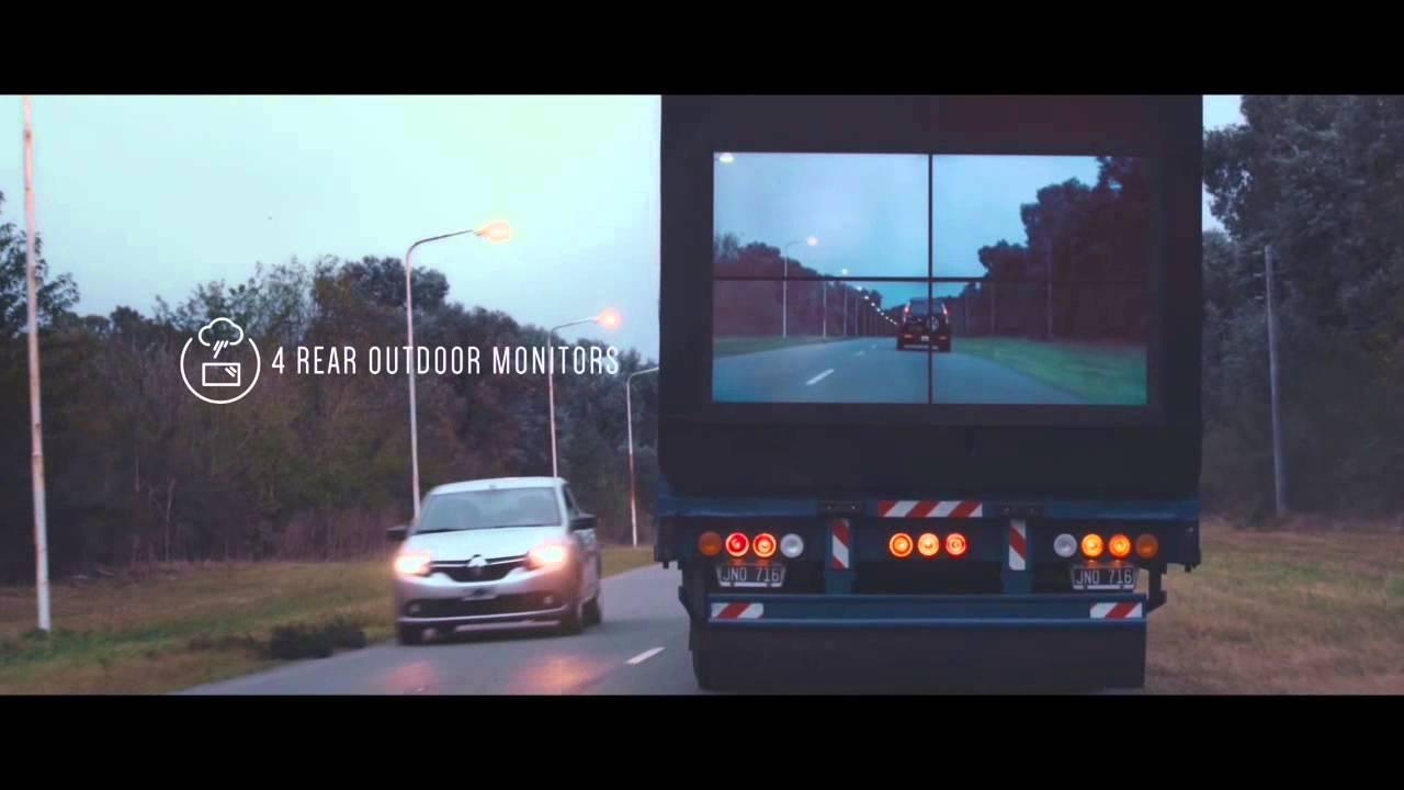 Μια έξυπνη ιδέα απο την Samsung, για τις επικίνδυνες προσπεράσεις στην εθνική videos