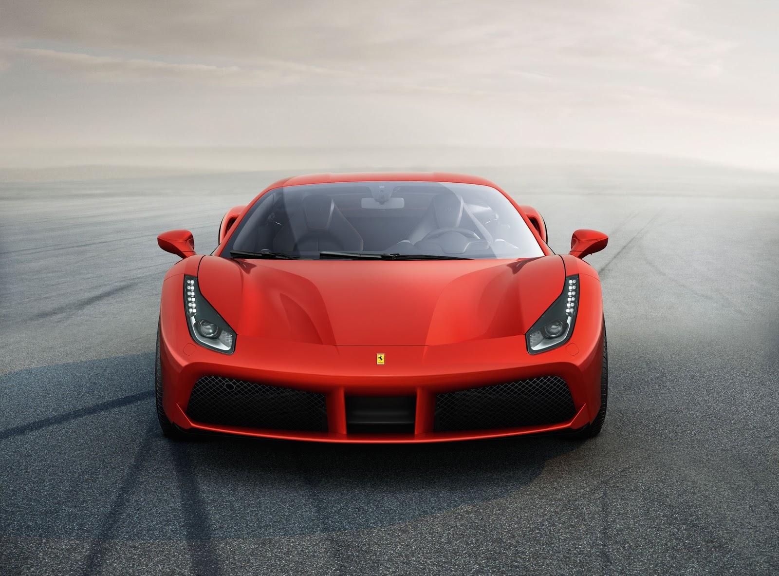 Δοκιμή της Ferrari 488 twin turbo στην πίστα Ferrari, Ferrari 488, Ferrari 488 GTB, videos