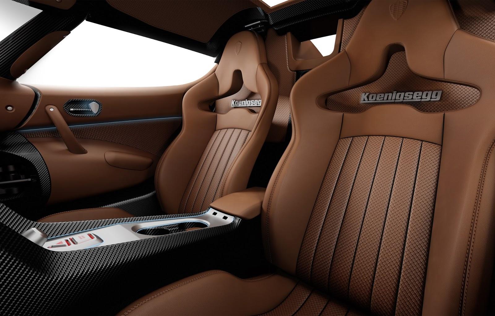 Koenigsegg Regera interior seat Υποκλιθείτε μπροστά στον καινούργιο βασιλιά Koenigsegg, Koenigsegg Regera, Koenigsegg Regera Megacar, Megacar, Regera, zblog