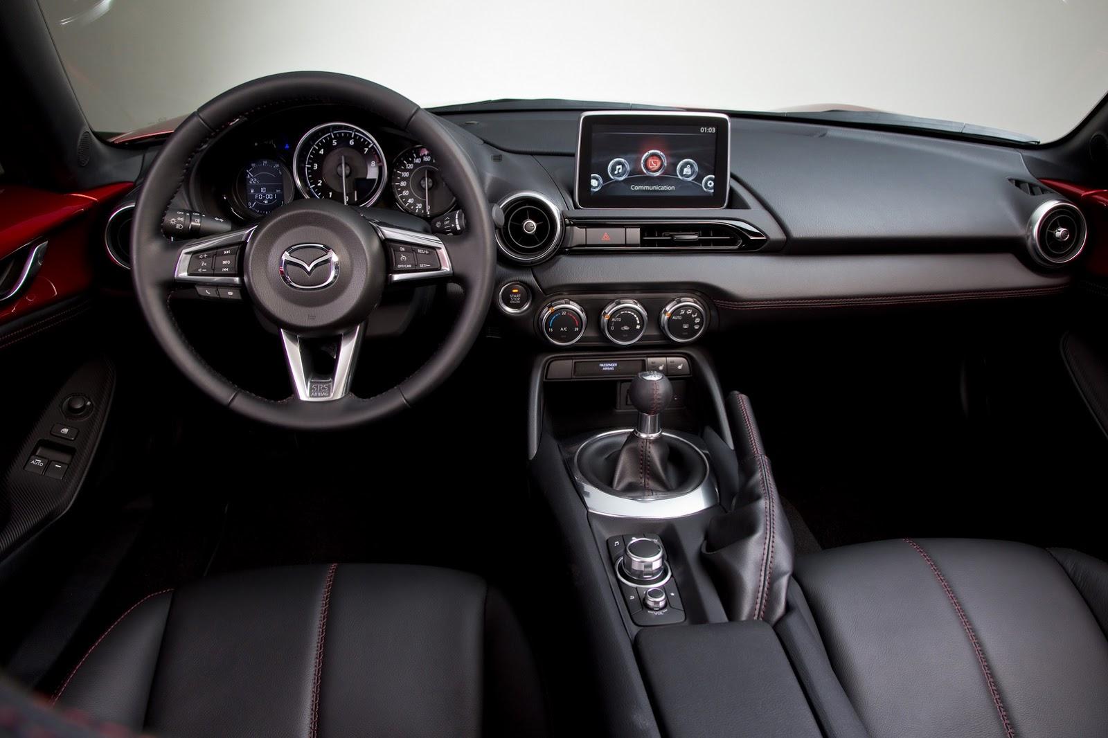 MX 5 int Το δυνατότερο Mazda MX-5 θα έχει 158 ίππους Mazda, mazda mx-5, mx-5, Skyactiv, zblog