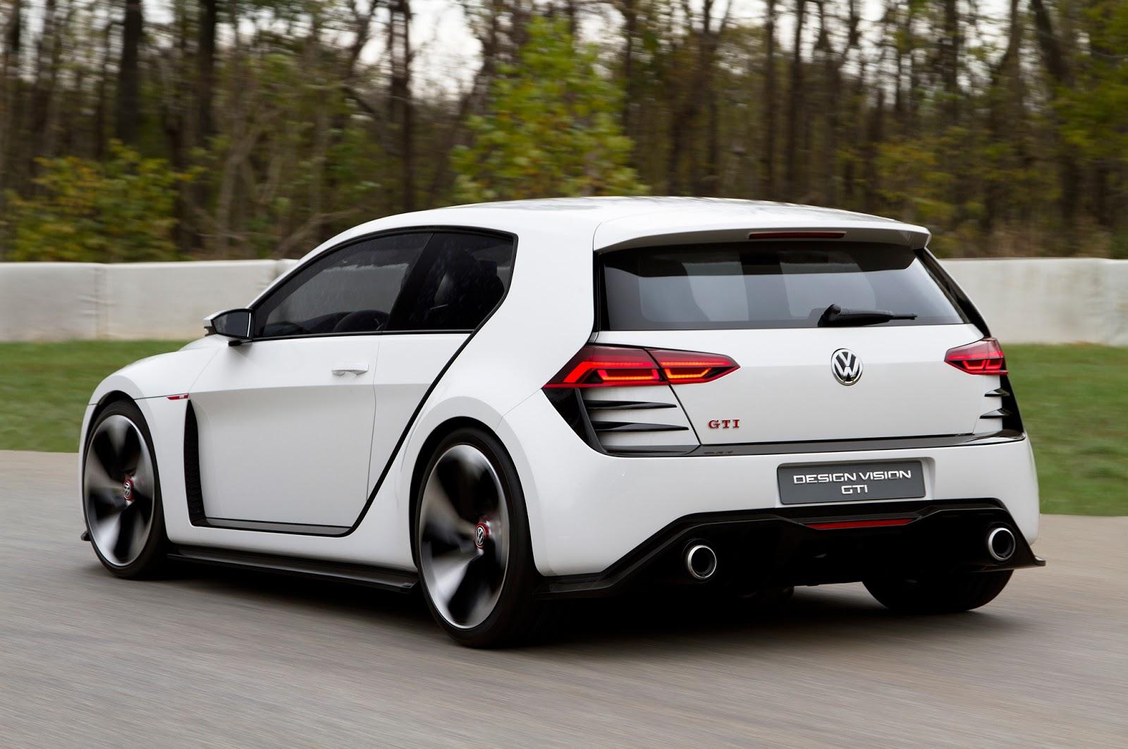 VW Design Vision GTI Concept 011 Η όγδοη γενιά του Golf θα έχει τετρακίνηση και 400 άλογα Golf R400, Volkswagen, VW, VW Golf GTI, zblog