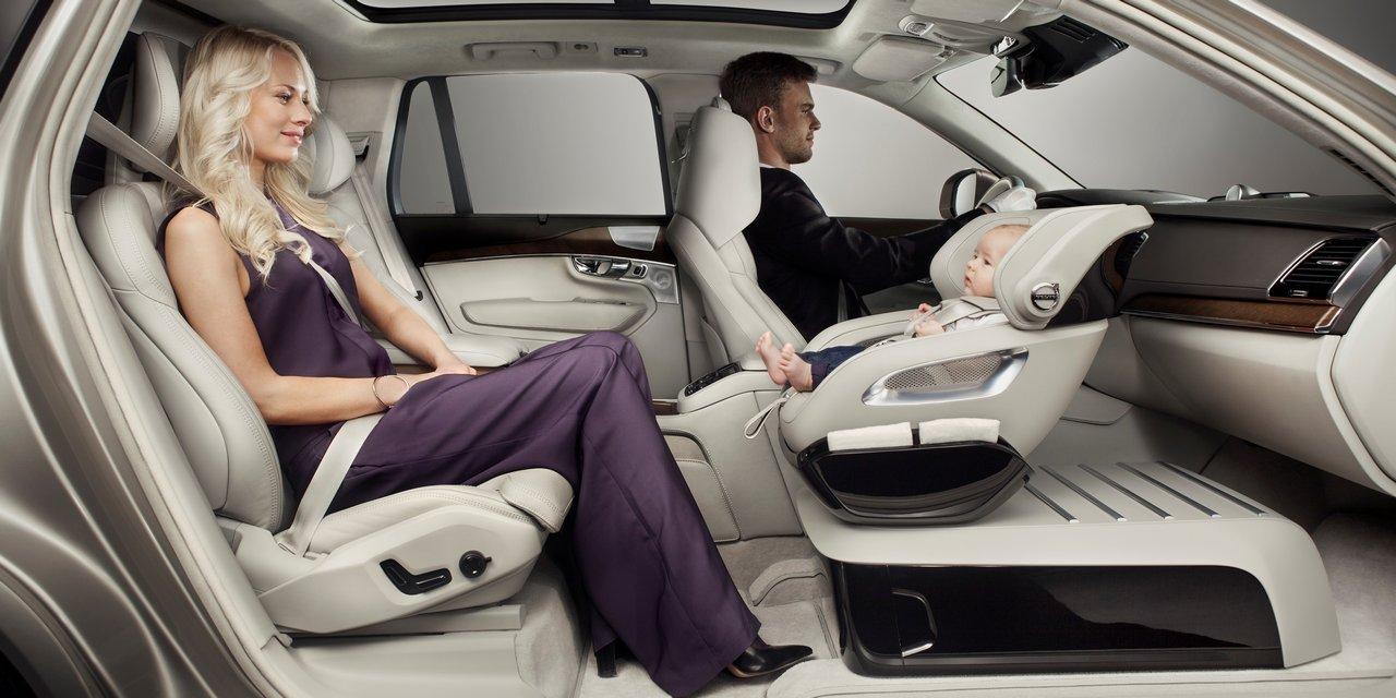 volvo excellence child seat concept 01 Volvo: Σχεδίασε το αυτοκίνητο που ονειρεύονται όλοι οι γονείς! Child Seat Concept, Tisha Johnsons, videos, Volvo, Volvo XC90, XC90