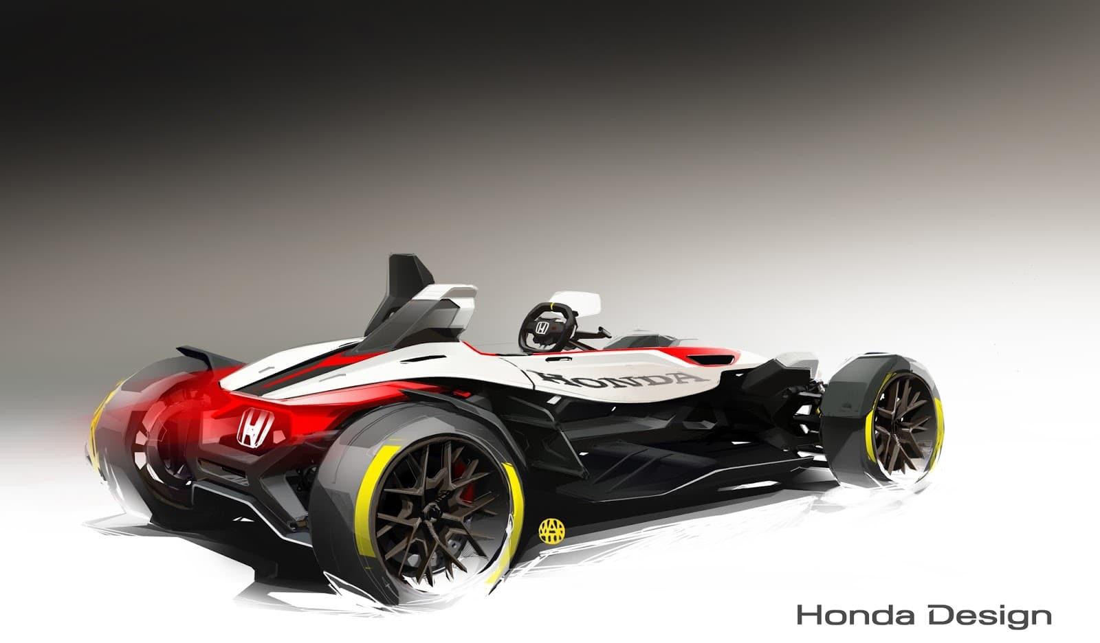 60617 HONDA PROJECT 2 4 POWERED BY RC213V Αυτοκίνητο ή μοτοσικλέτα; Και τα δυο σε ένα μας λέει η Honda Frankfurt Motor Show, Global Design Project, Honda, Honda design, Honda Project 2&4