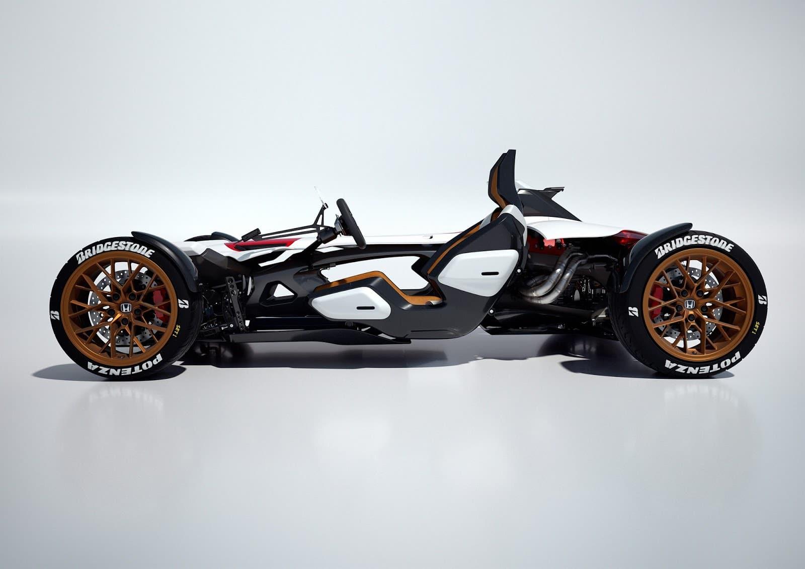 60620 HONDA PROJECT 2 4 POWERED BY RC213V Αυτοκίνητο ή μοτοσικλέτα; Και τα δυο σε ένα μας λέει η Honda Frankfurt Motor Show, Global Design Project, Honda, Honda design, Honda Project 2&4