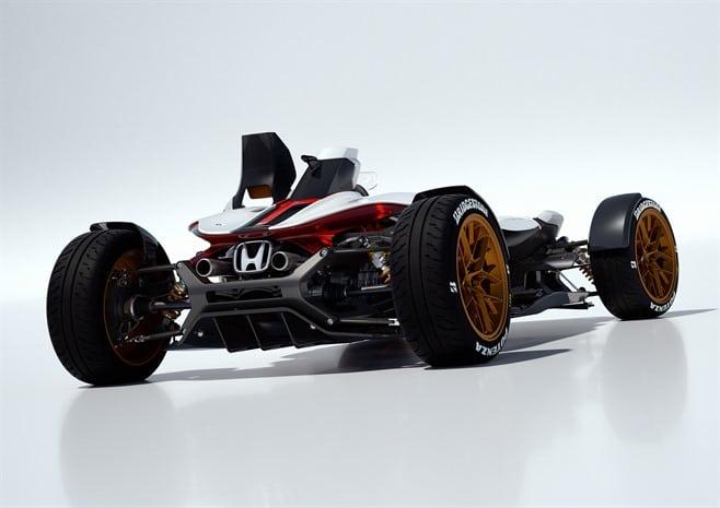60621 HONDA PROJECT 2 4 POWERED BY RC213V Αυτοκίνητο ή μοτοσικλέτα; Και τα δυο σε ένα μας λέει η Honda Frankfurt Motor Show, Global Design Project, Honda, Honda design, Honda Project 2&4