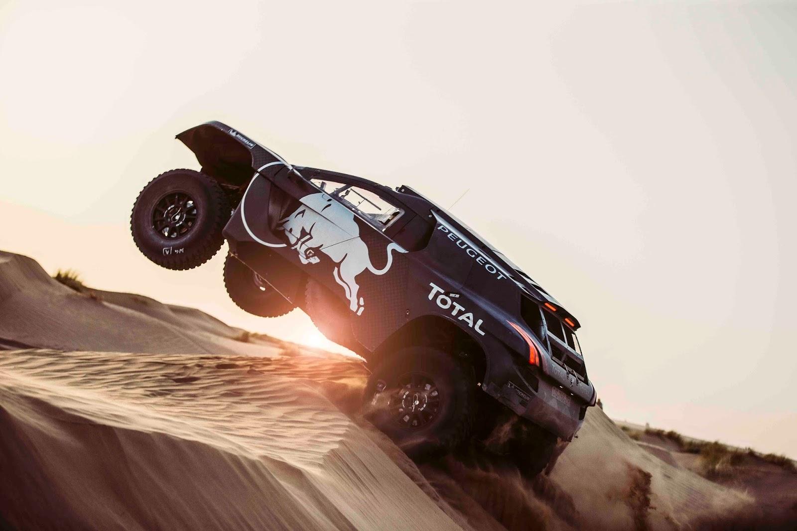 FD 150914 Peugeot Test in Morocco 0031 Το θηριώδες Peugeot 2008 DKR16 επιστρέφει Peugeot, Peugeot 2008, Peugeot 2008 DKR16, Rally, Rally Dakar, videos