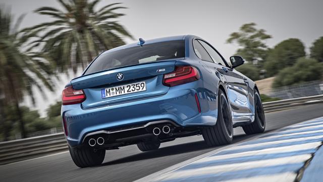 BMW M2 official 2 Δες τη BMW M2 να διδάσκει στρίψιμο στο Nurburgring BMW, BMW M2, video, videos