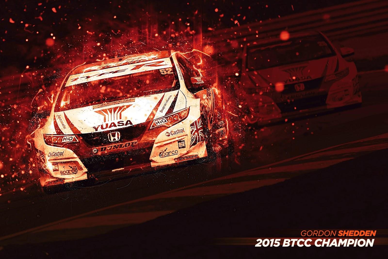 BTCC 2015 Champions Η συλλογή τίτλων μόλις ξεκίνησε για το νέο Civic Type R BTCC, Hatcback, Honda, Honda Civic, Honda Civic Type R, Rally, videos