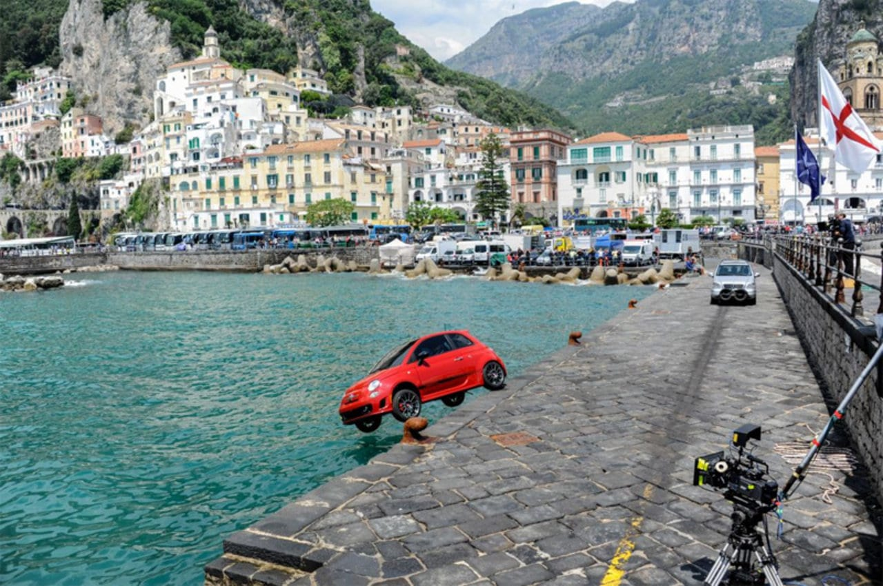 fiat2B500 Η αποτυχημένη προσπάθεια του Fiat 500 να γίνει αμφίβιο Fiat, Fiat 500, Fun, videos, Αμφίβιο