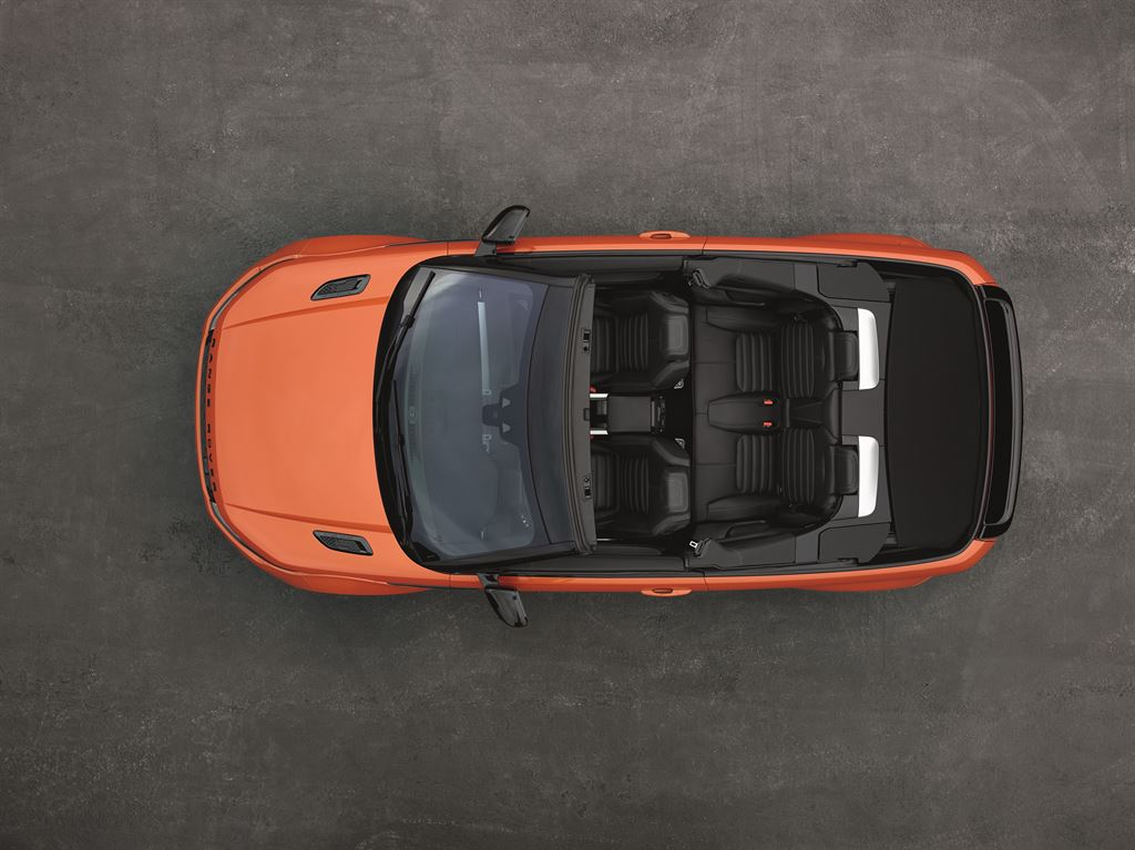 RR EVQ Convertible Static 091115 05 LowRes Η επανάσταση των ανοιχτών SUV ξεκίνησε με το Range Rover Evoque Cabriolet Evoque, Land Rover, Range Rover, Range Rover Evoque, Range Rover Evoque Cabriolet, SUV, videos