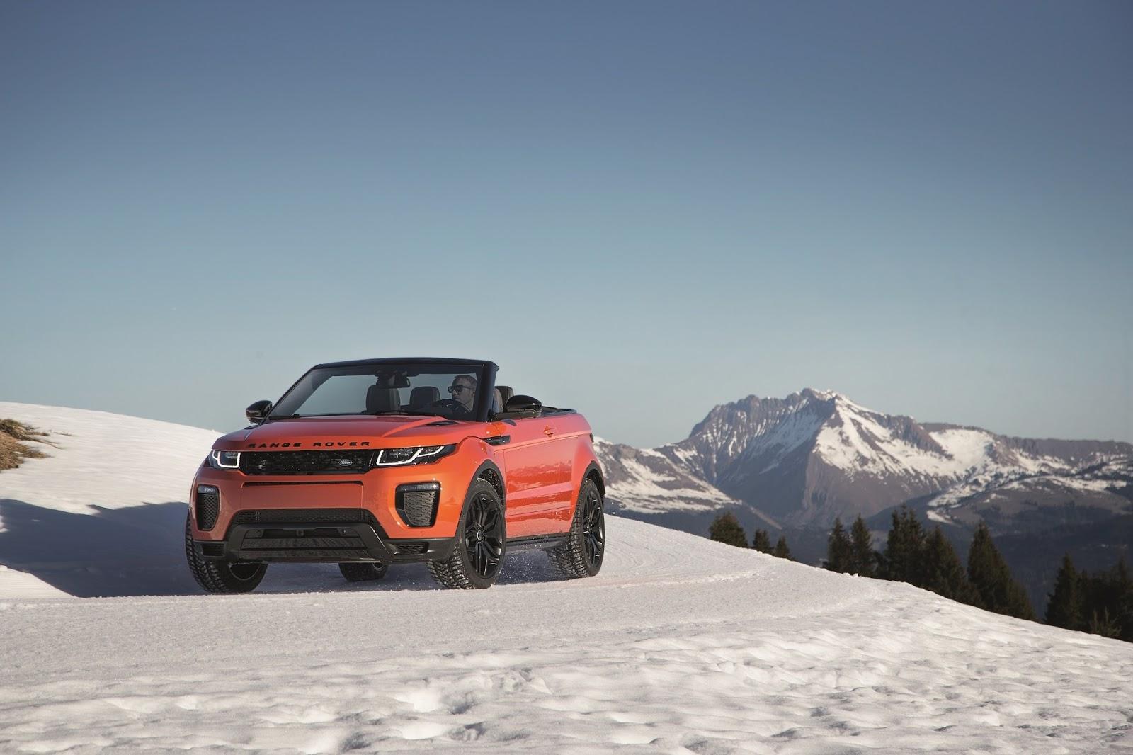 Η επανάσταση των ανοιχτών SUV ξεκίνησε με το Range Rover Evoque Cabriolet Evoque, Land Rover, Range Rover, Range Rover Evoque, Range Rover Evoque Cabriolet, SUV, videos