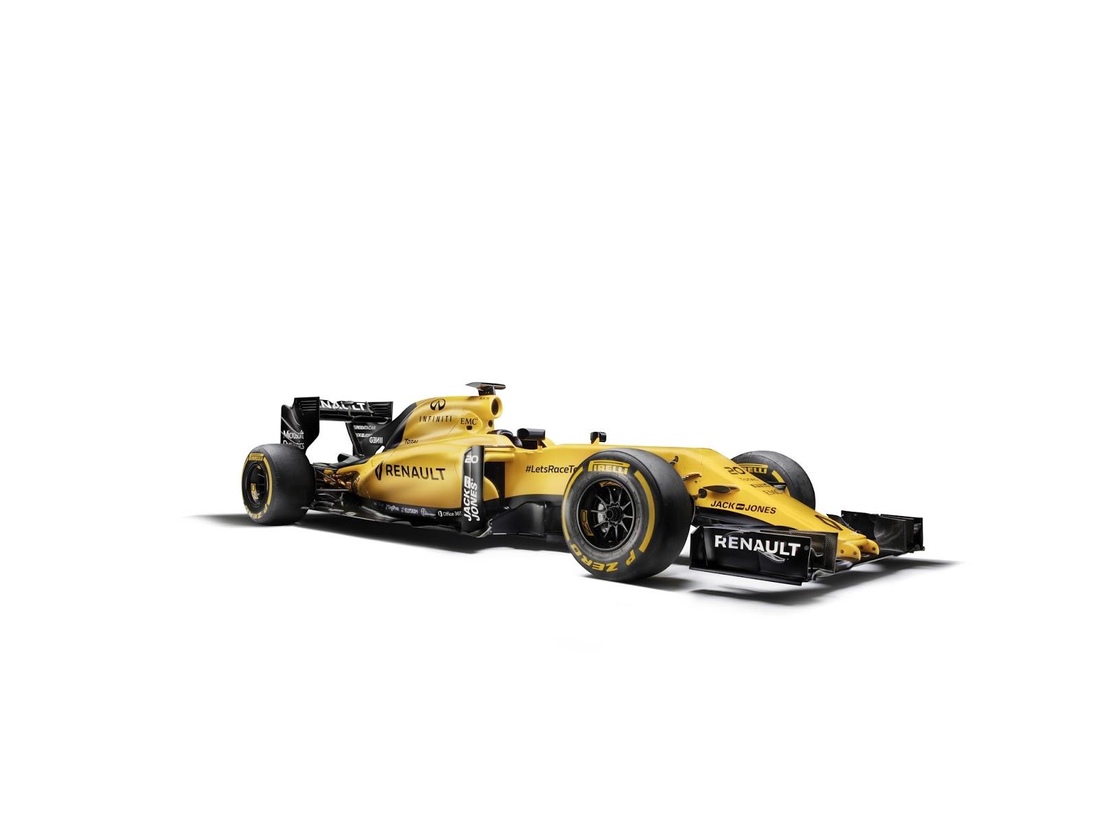 00098717 H Renault Sport Formula 1 Team επέλεξε ένα μοναδικό τρόπο για να παρουσιάσει τα νέα χρώματα της ομάδας