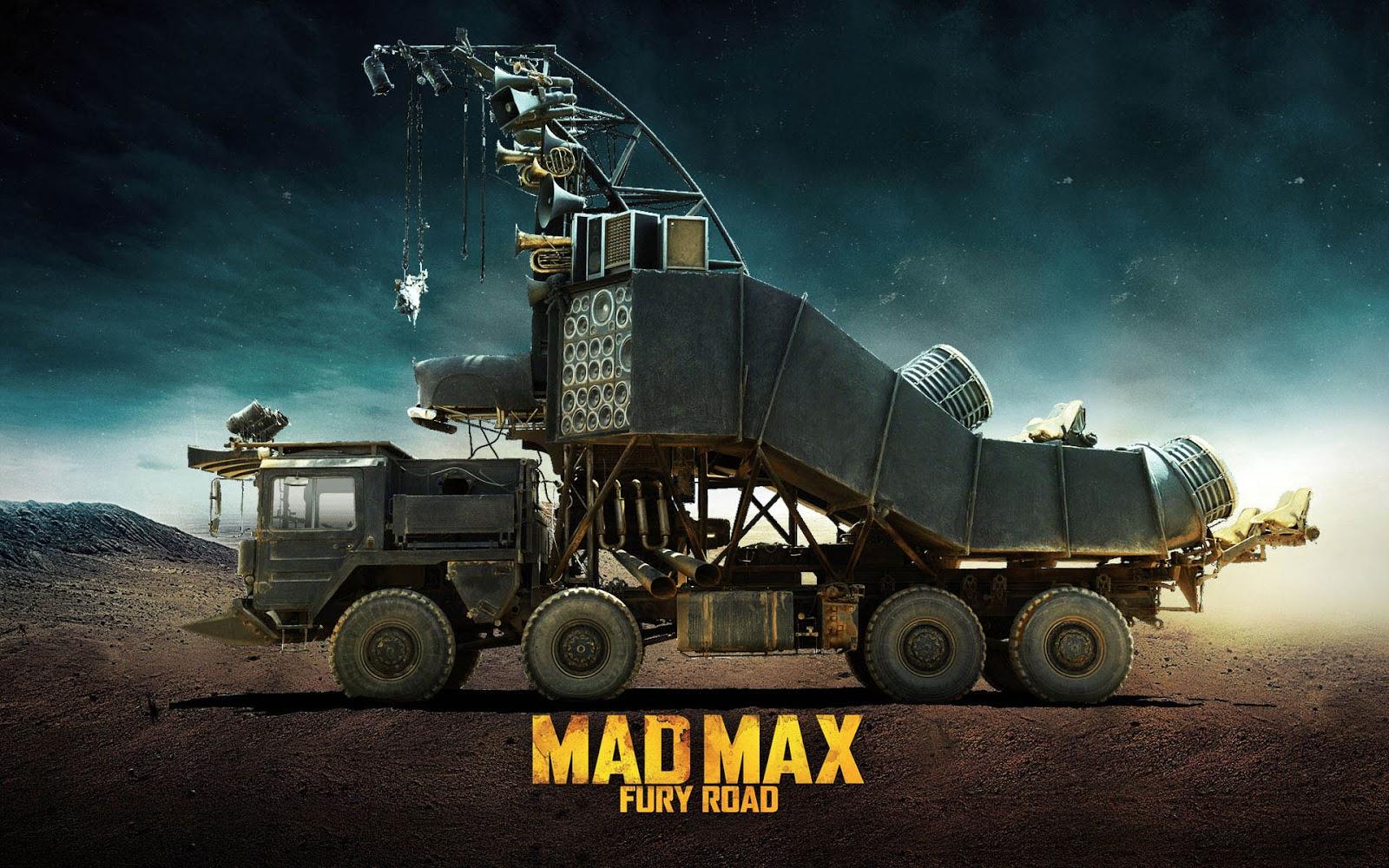 doof wagon mad max fury road wallpaper Απονέμουμε τα Όσκαρ αυτοκινήτου Fun, Jaguar C-X75, LYKAN HYPERSPORT, movie cars, videos, zblog