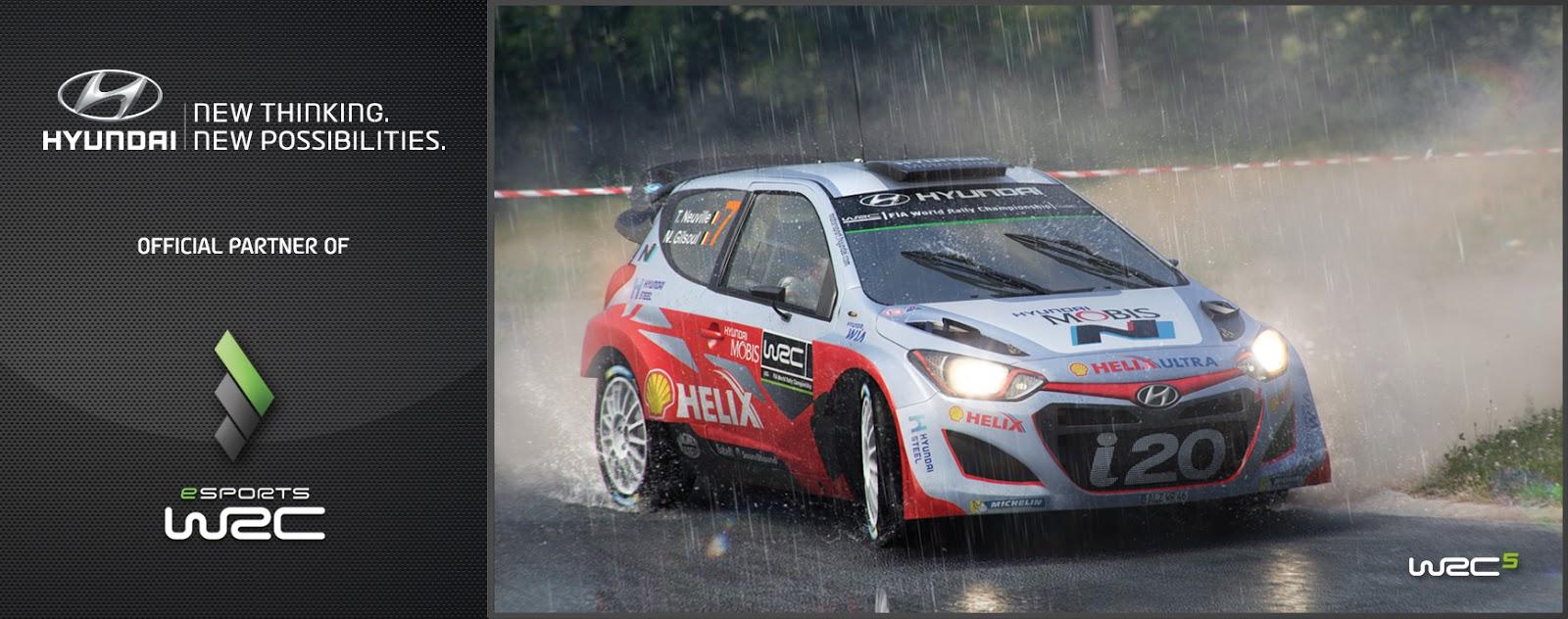eSportsWRC Hyundai announcement picture Ο νικητής του eSports WRC θα κερδίσει ένα αυτοκίνητο Hyundai i20! Game, Hyundai, Τεχνολογία
