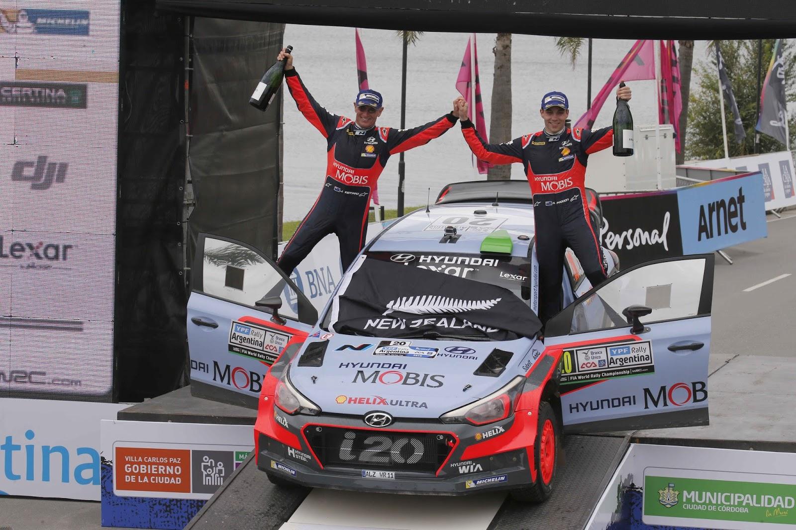 160425 WRC2BArgentina2BWinning Η Hyundai Motorsport τερματίζει πρώτη στο Ράλι Αργεντινής με το Νέας Γενιάς i20 WRC Hyundai, Hyundai i20 WRC, Motorsport, Rally, videos, WRC