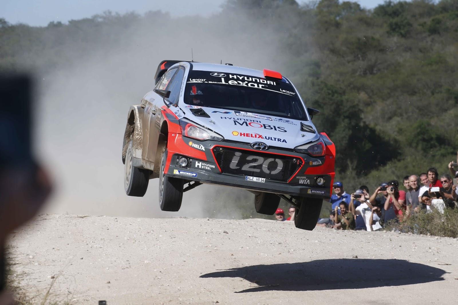 160425 WRC2BArgentina2BWinning2B252832529 Η Hyundai Motorsport τερματίζει πρώτη στο Ράλι Αργεντινής με το Νέας Γενιάς i20 WRC Hyundai, Hyundai i20 WRC, Motorsport, Rally, videos, WRC