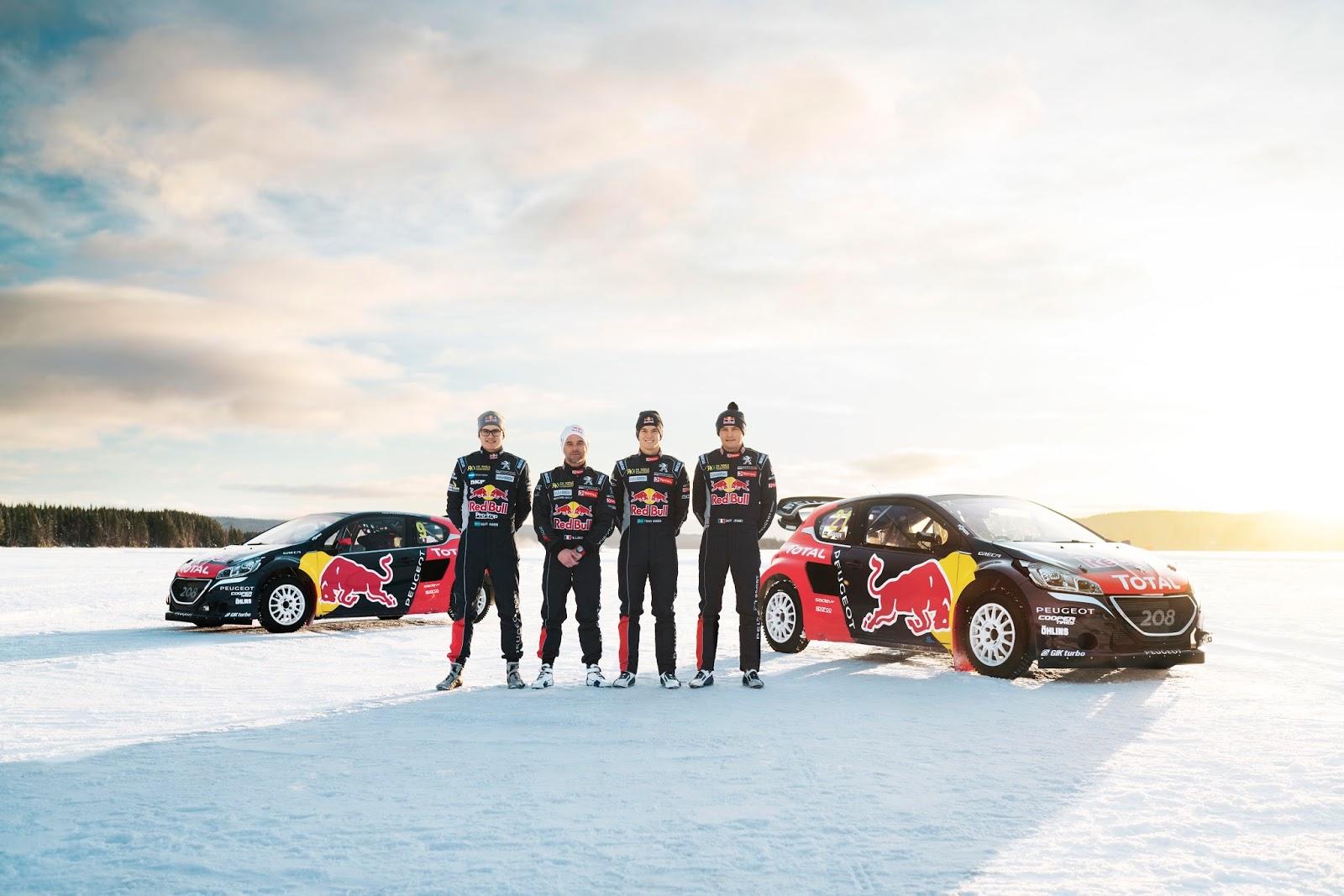 56d078d156042255B1255D Έτοιμα για μάχη τα PEUGEOT 208 WRX, έτοιμος και ο Sébastien Loeb για το World RX! Hansen Motorsport, Peugeot, PEUGEOT 208 WRX, Peugeot Sport, Rally, Rallycross, videos, World RX, zblog