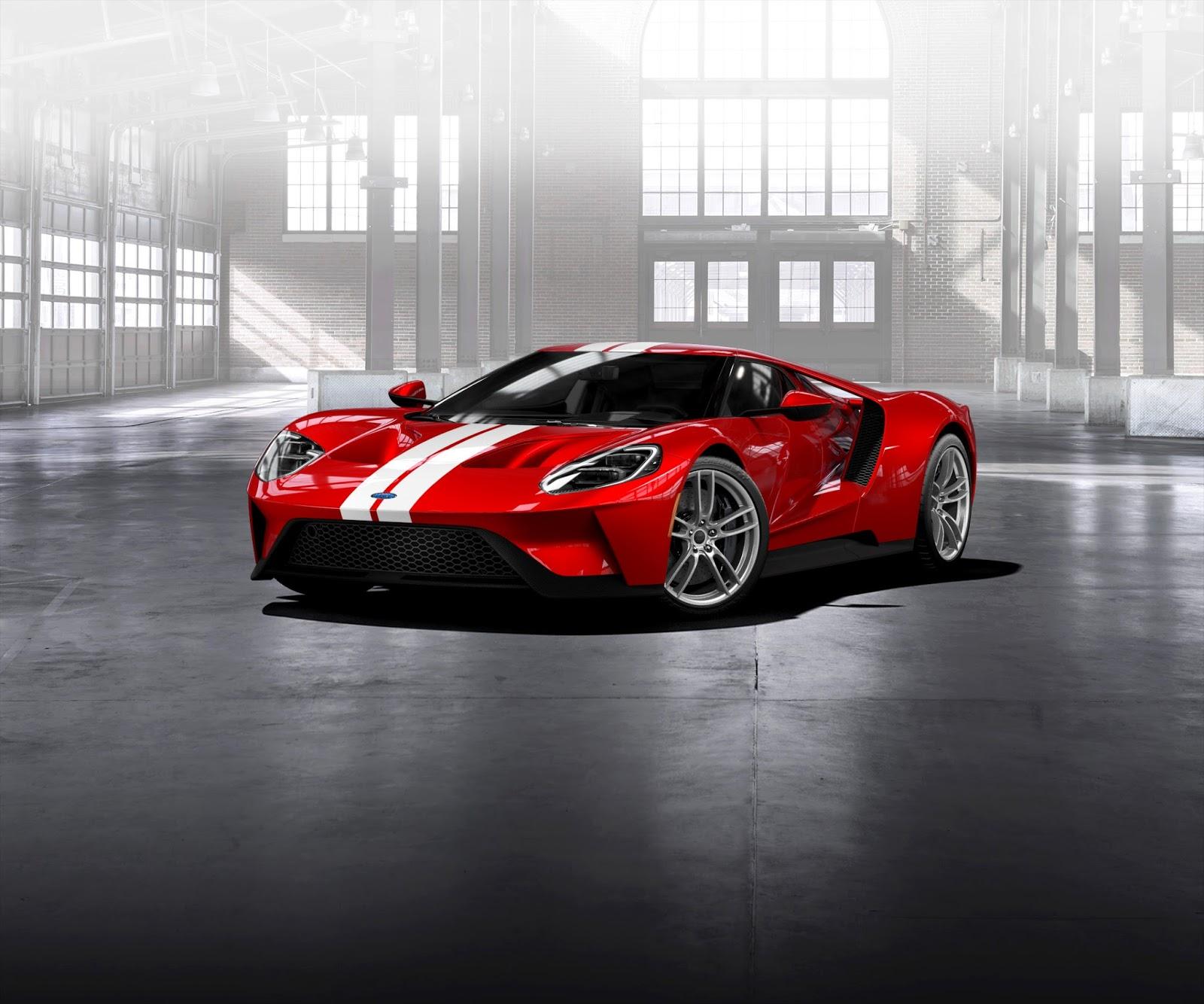 FORD2BGT liqred str wht Διαμόρφωσε το δικό σου Ford GT όπως εσύ το θέλεις Ford, Ford GT, Ford GT 40, αγορά