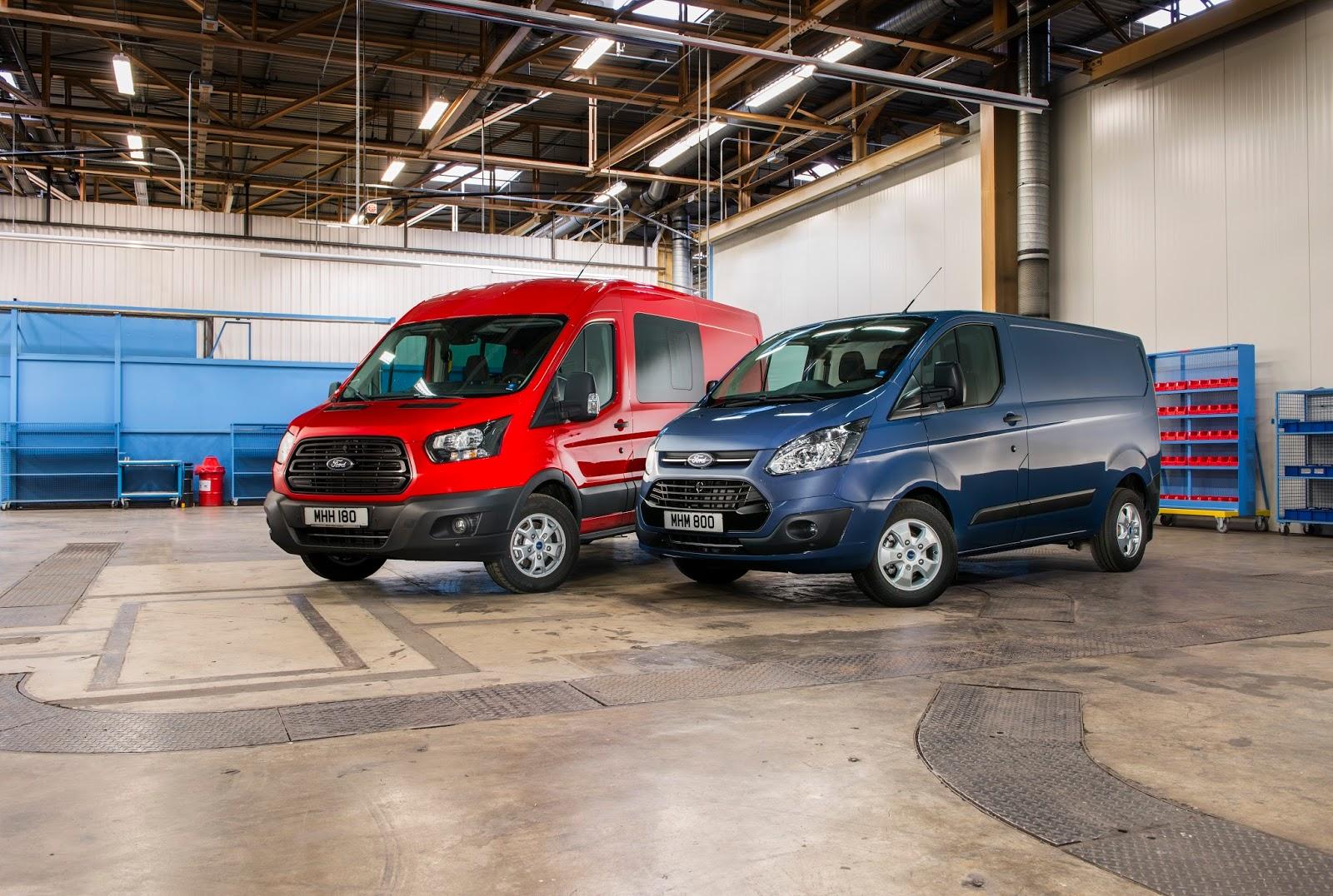 Ford2016 Transit Group 09 Ford Transit & Transit Custom με νέους κινητήρες Ford EcoBlue Engine, Ford, Ford Transit, Ford Transit Custom, videos, Επαγγελματικά