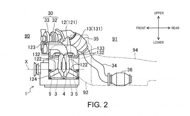 Mazda SkyActiv R patent application