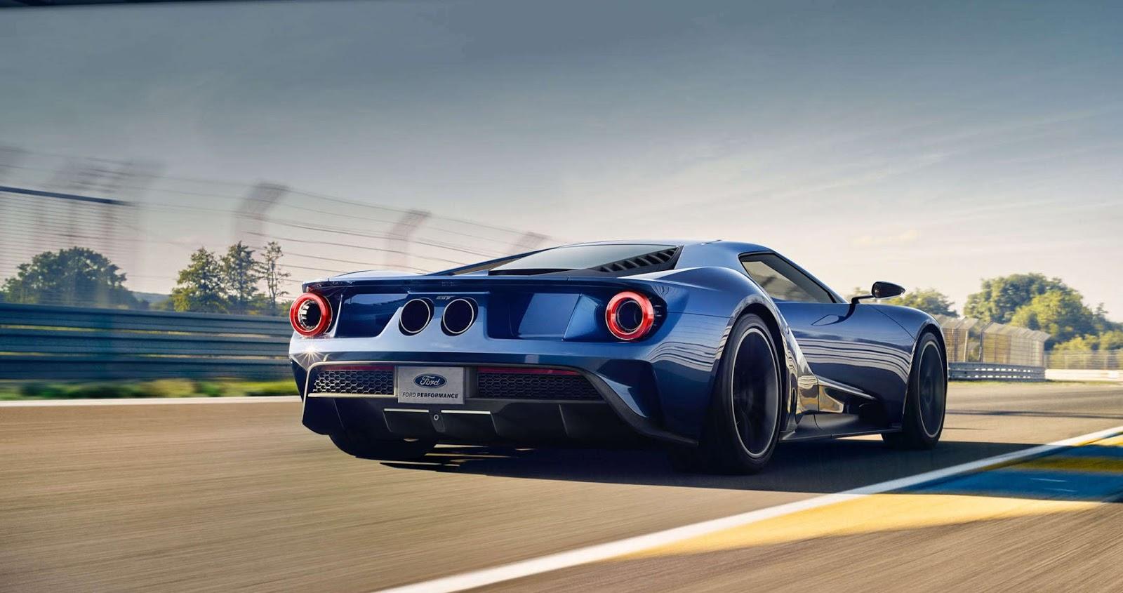 Michelin 3 4 back v2 large Διαμόρφωσε το δικό σου Ford GT όπως εσύ το θέλεις Ford, Ford GT, Ford GT 40, αγορά