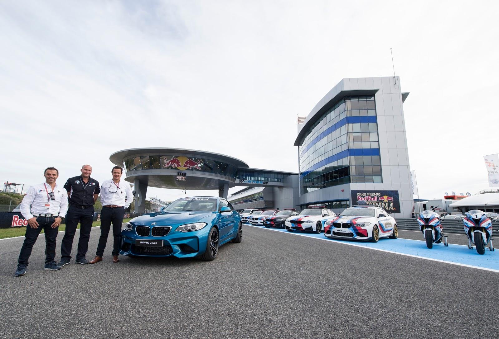 P90216937 highRes 2016 bmw m award lor Μια BMW M2 Coupé το έπαθλο για τον ταχύτερο στις κατατακτήριες δοκιμές στο MotoGP™ BMW M, BMW M Performance, BMW M2, MotoGP, Safety Car