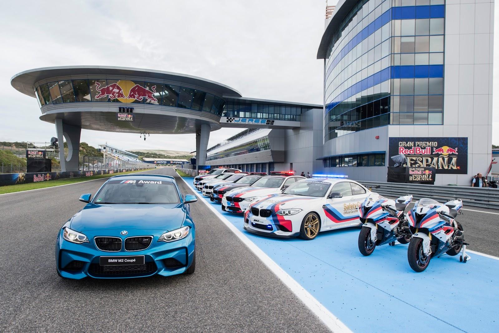 P90216939 highRes 2016 bmw m award pre Μια BMW M2 Coupé το έπαθλο για τον ταχύτερο στις κατατακτήριες δοκιμές στο MotoGP™ BMW M, BMW M Performance, BMW M2, MotoGP, Safety Car