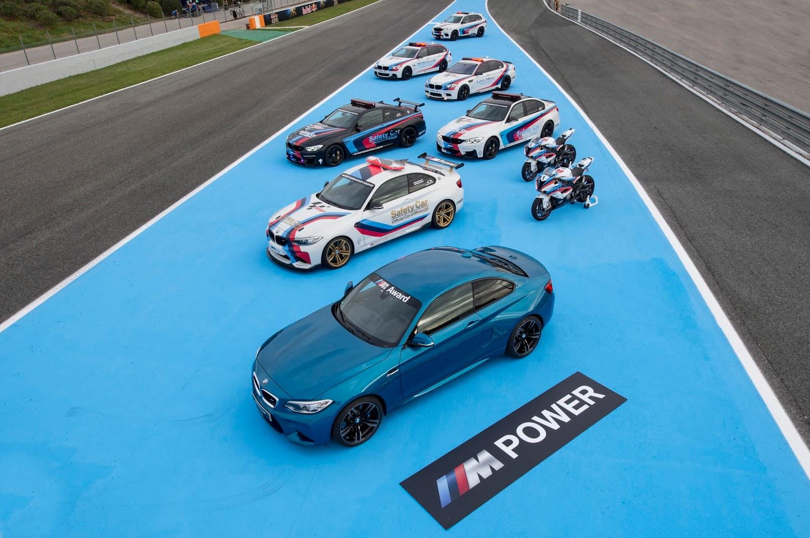 P90216941 highRes 2016 bmw m award pre Μια BMW M2 Coupé το έπαθλο για τον ταχύτερο στις κατατακτήριες δοκιμές στο MotoGP™ BMW M, BMW M Performance, BMW M2, MotoGP, Safety Car