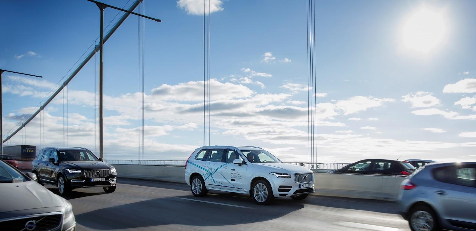 VOLVO DRIVE ME2BLONDON 2 Αυτόνομη οδήγηση από τη Volvo και στη Μεγ. Βρετανία Autonomous Driving, videos, Volvo, Volvo Cars, Τεχνολογία