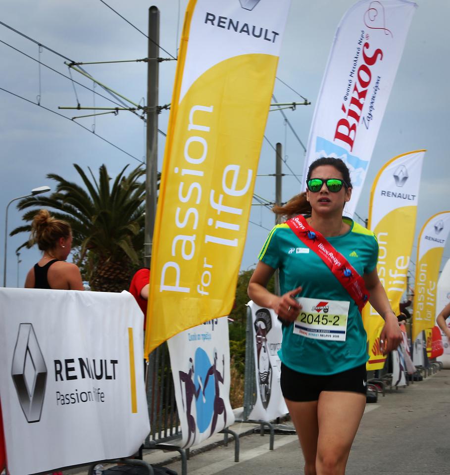 az SR Glyfada 2016 2709 Σκυτάλη στην αλληλεγγύη με τη Renault Passion for Running Team Fun, Renault, Street Relays