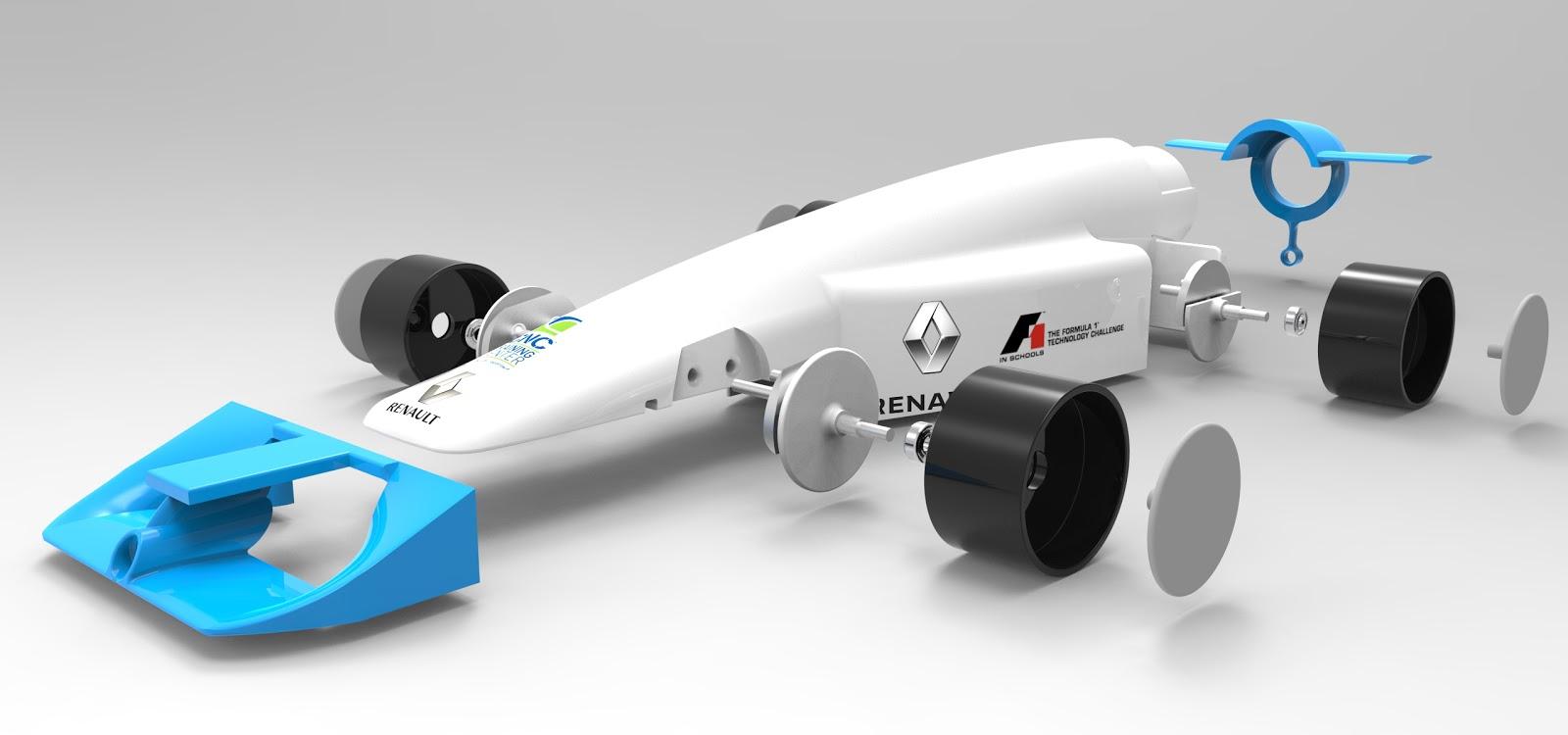 exploded r Μαθητές απ' όλο τον κόσμο δημιουργούν τις δικές τους ομάδες στα πρότυπα της F1 F1, Renault, videos, Τεχνολογία