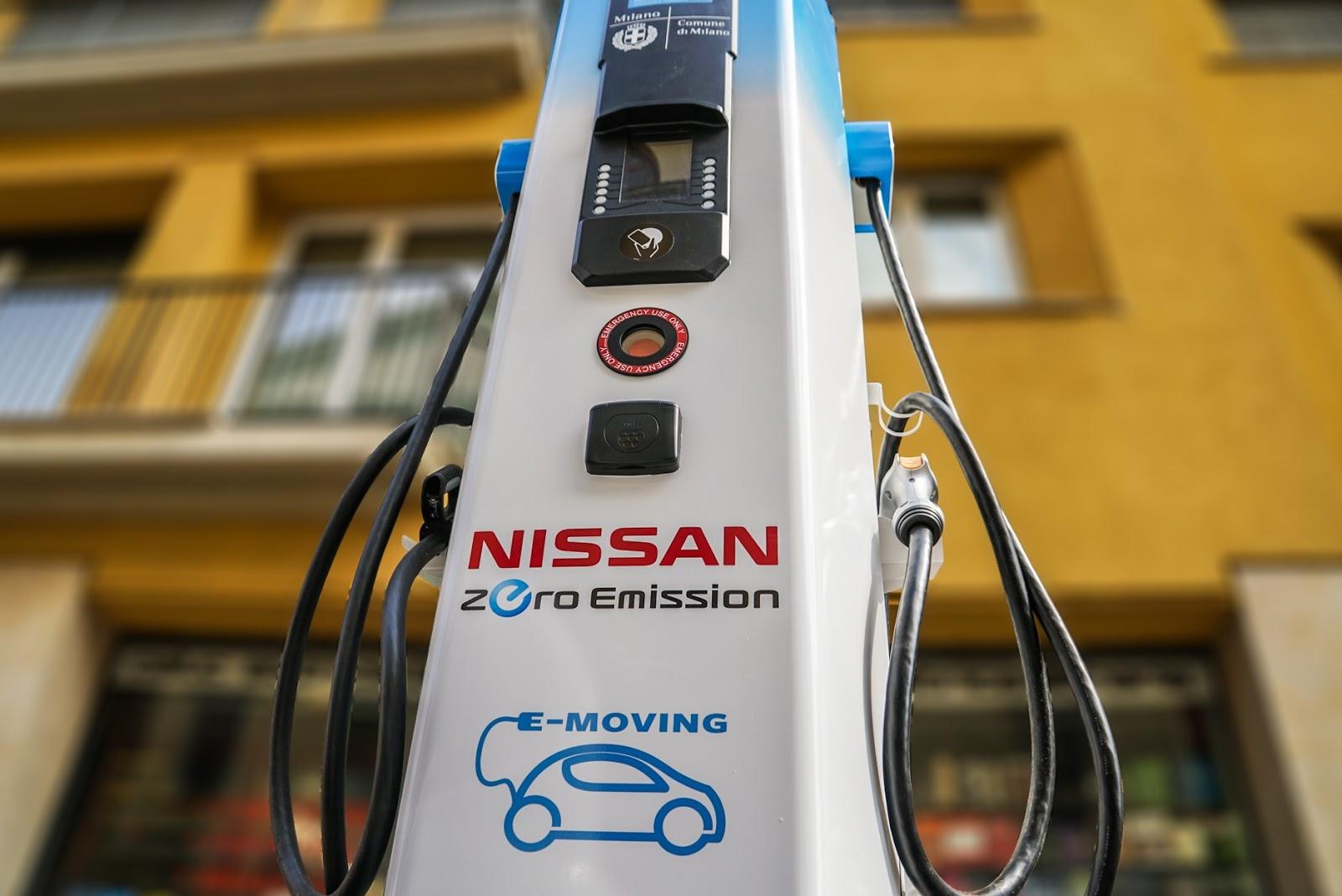 145631 5 8 Τα ηλεκτρικά οχήματα της Nissan, στον τελικό του UEFA Champions League στο Μιλάνο Nissan, Nissan LEAF, UEFA Champions League