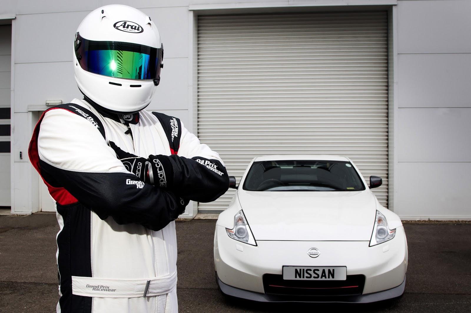 145920 1 5 H Nissan αποκαλύπτει τον δικό της… Stig ! Driver, Fun, Nissan