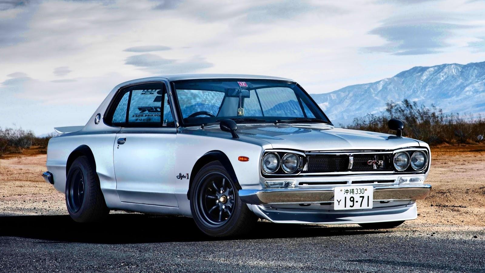 Hakosuka2BSkyline2BGT R Το πρώτης γενιάς Nissan Skyline GT-R οδηγείται όπως του αρμόζει