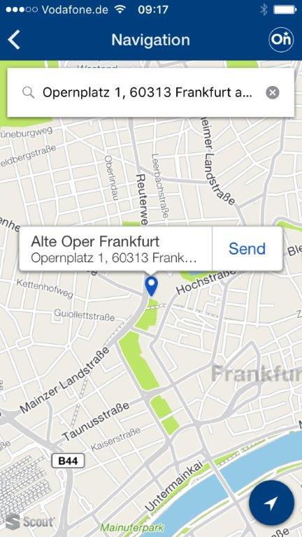Opel myOpel OnStar 301776 Η εφαρμογή myOpel Στέλνει τον Προορισμό στο Σύστημα Πλοήγησης από Smartphone Opel, Opel OnStar, Τεχνολογία