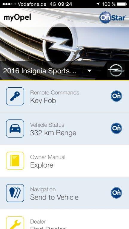 Opel myOpel OnStar 301777 Η εφαρμογή myOpel Στέλνει τον Προορισμό στο Σύστημα Πλοήγησης από Smartphone Opel, Opel OnStar, Τεχνολογία