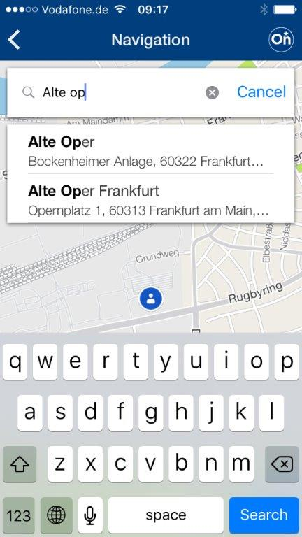 Opel myOpel OnStar 301778 Η εφαρμογή myOpel Στέλνει τον Προορισμό στο Σύστημα Πλοήγησης από Smartphone Opel, Opel OnStar, Τεχνολογία