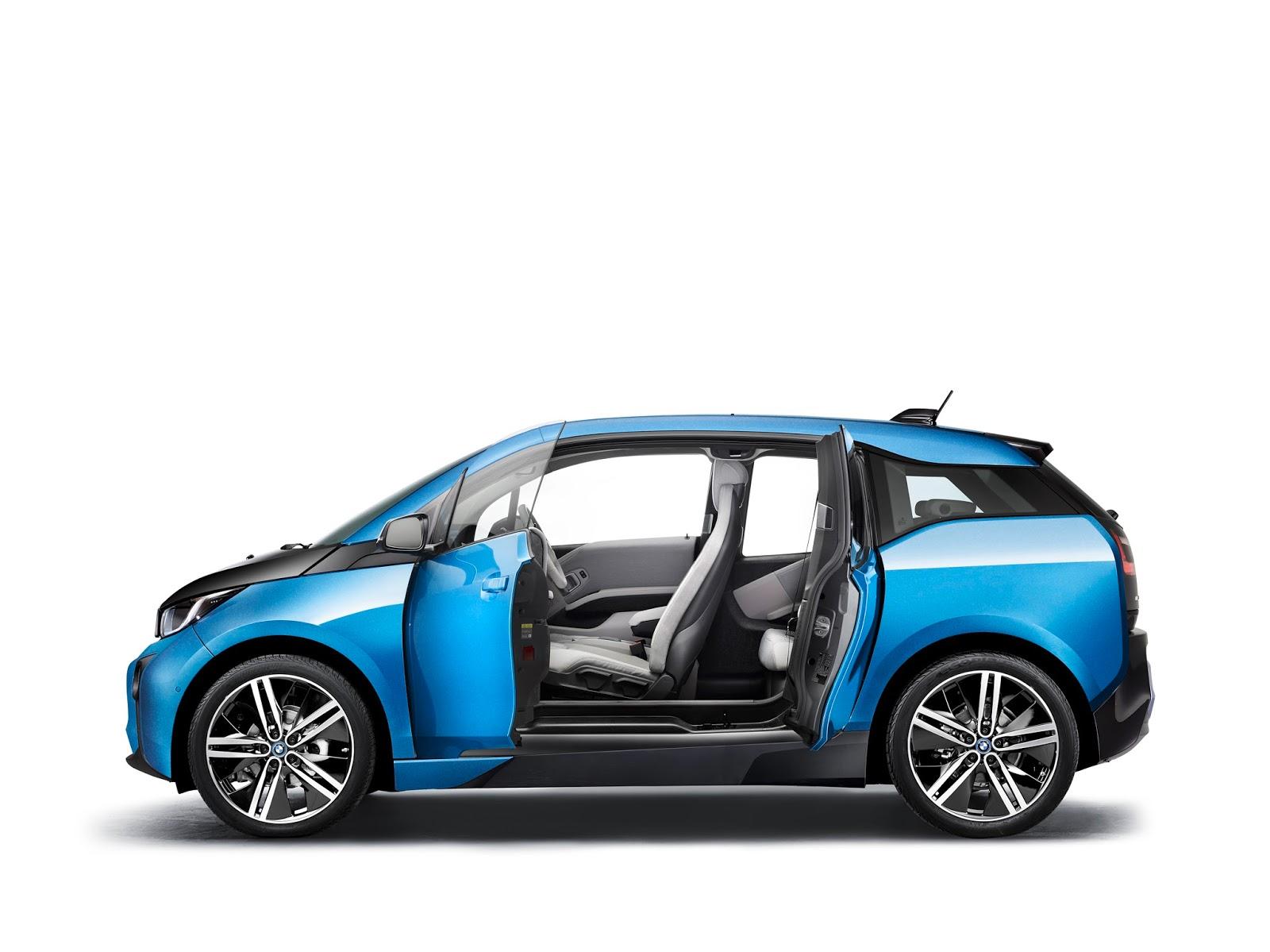 P90216952 highRes bmw i3 94ah 05 2016 Μεγαλύτερη αυτονομία για το i3 της BMW BMW, BMW i, BMW i3, car, Electric cars