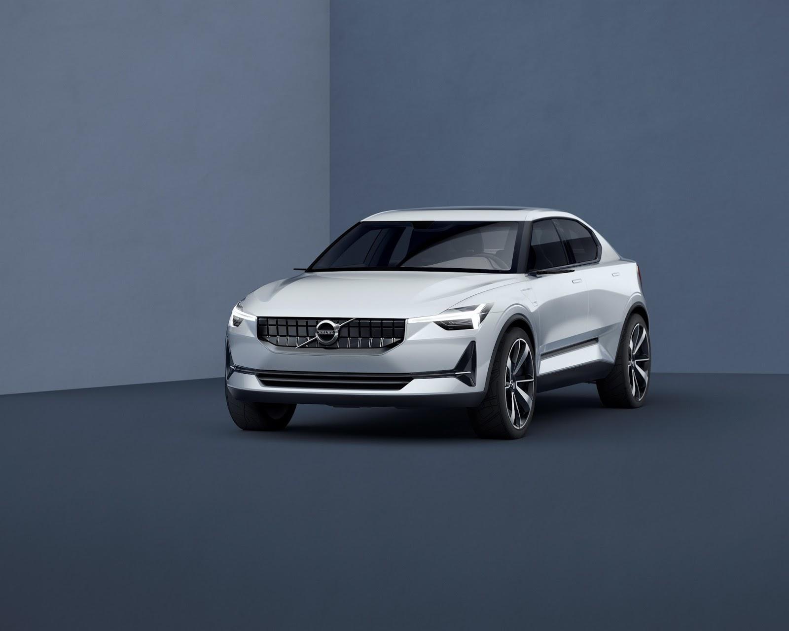 VOLVO2BCONCEPT 40 2 front quarter low Δύο νέα πρωτότυπα από τη Volvo (XC40 & S40) Volvo, Volvo S40, Volvo XC40