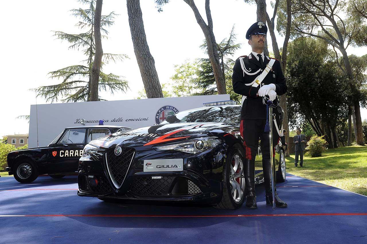 giulia2Bcarabinieri 1 Οι Carabinieri ΔΕΝ θα χρησιμοποιούν τη Giulia για καταδιώξεις