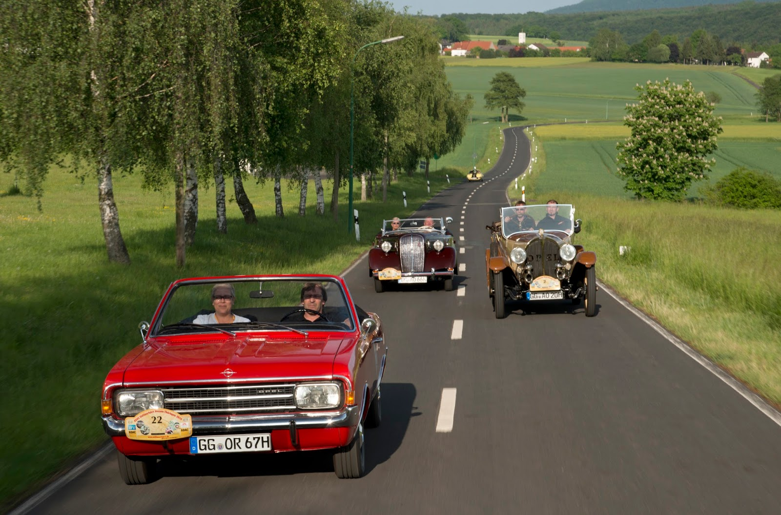 Opel Rallye Hessen Thueringen 2016 301180 Ταξίδι στο χρόνο μέσα από την ιστορία 100 χρόνων των Opel Cabrio cabrio, Opel, Opel 8/25 hp, Opel Cascada, Opel Olympia, Opel Record