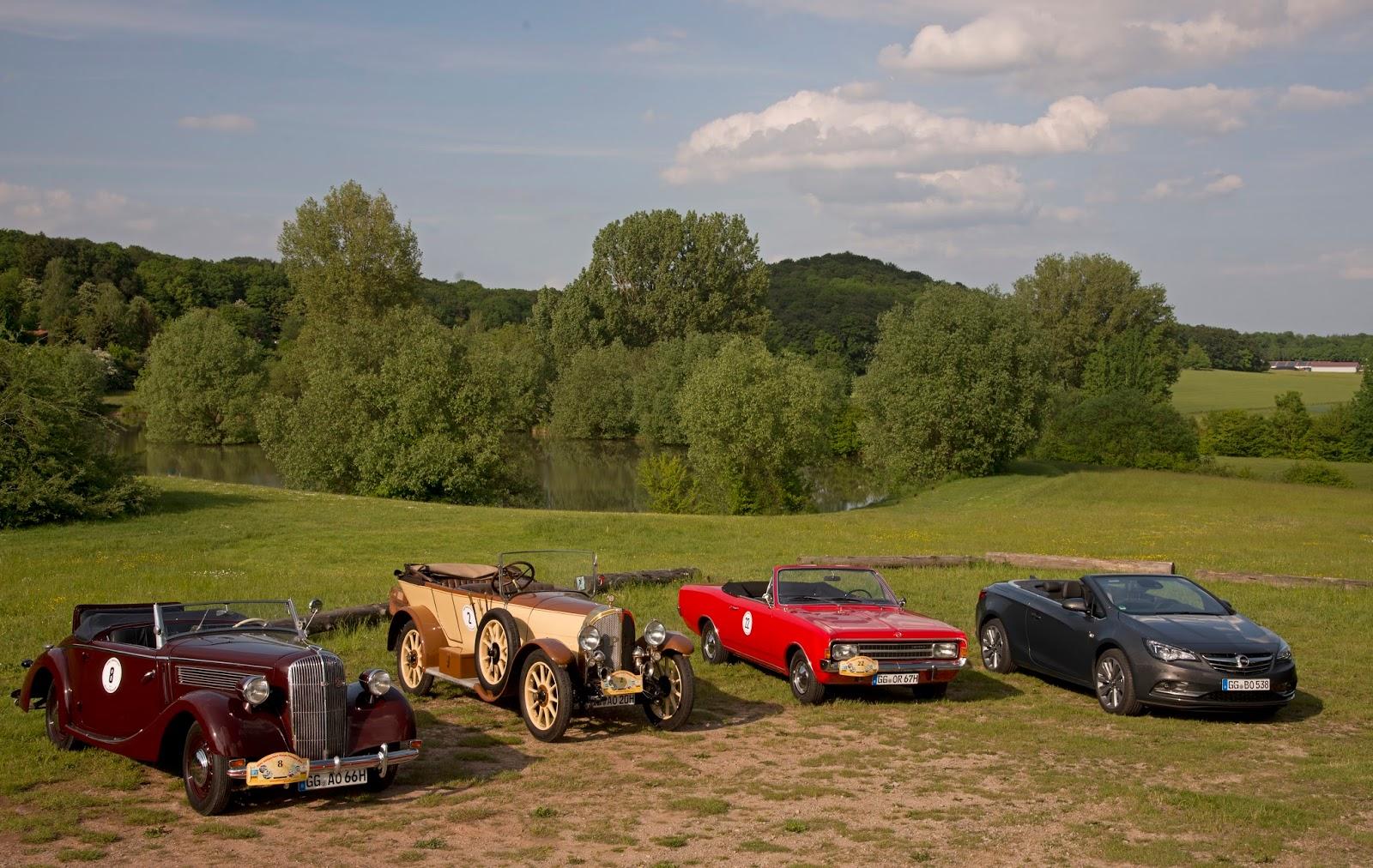 Opel Rallye Hessen Thueringen 2016 301188 Ταξίδι στο χρόνο μέσα από την ιστορία 100 χρόνων των Opel Cabrio cabrio, Opel, Opel 8/25 hp, Opel Cascada, Opel Olympia, Opel Record