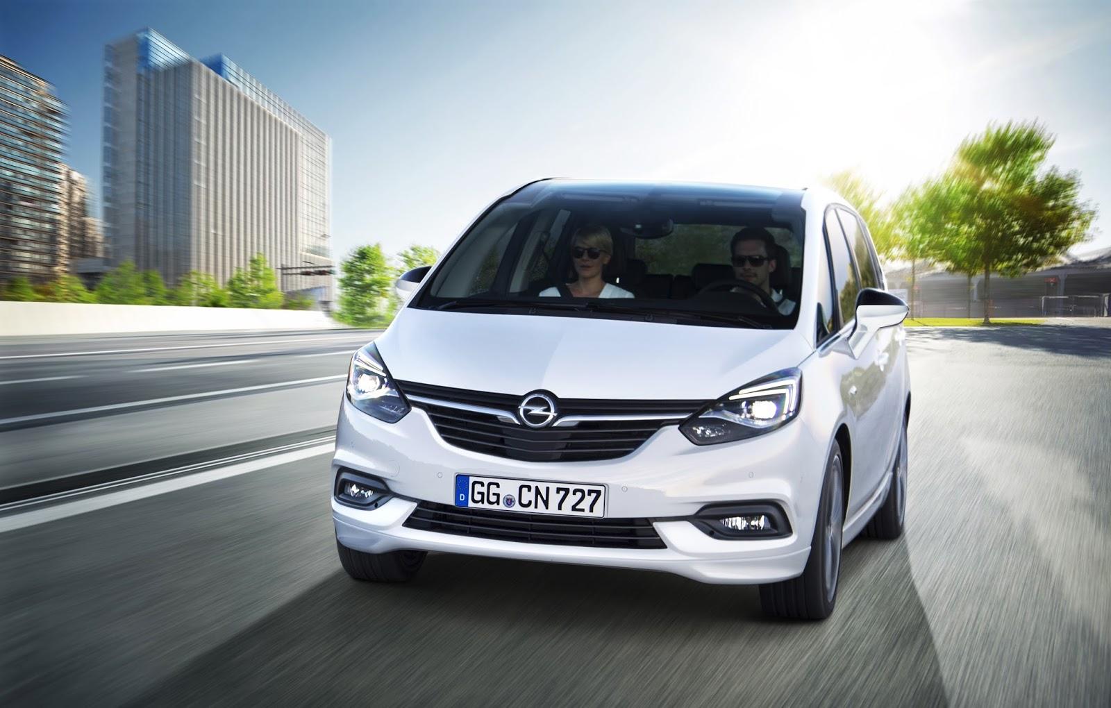 Opel Zafira 301121