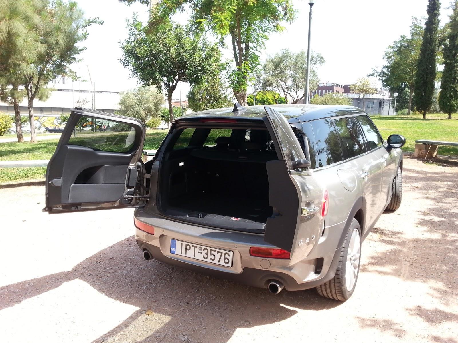 clubman2Bportes Οδηγούμε το Mini Cooper S Clubman TEST, ΔΟΚΙΜΕΣ