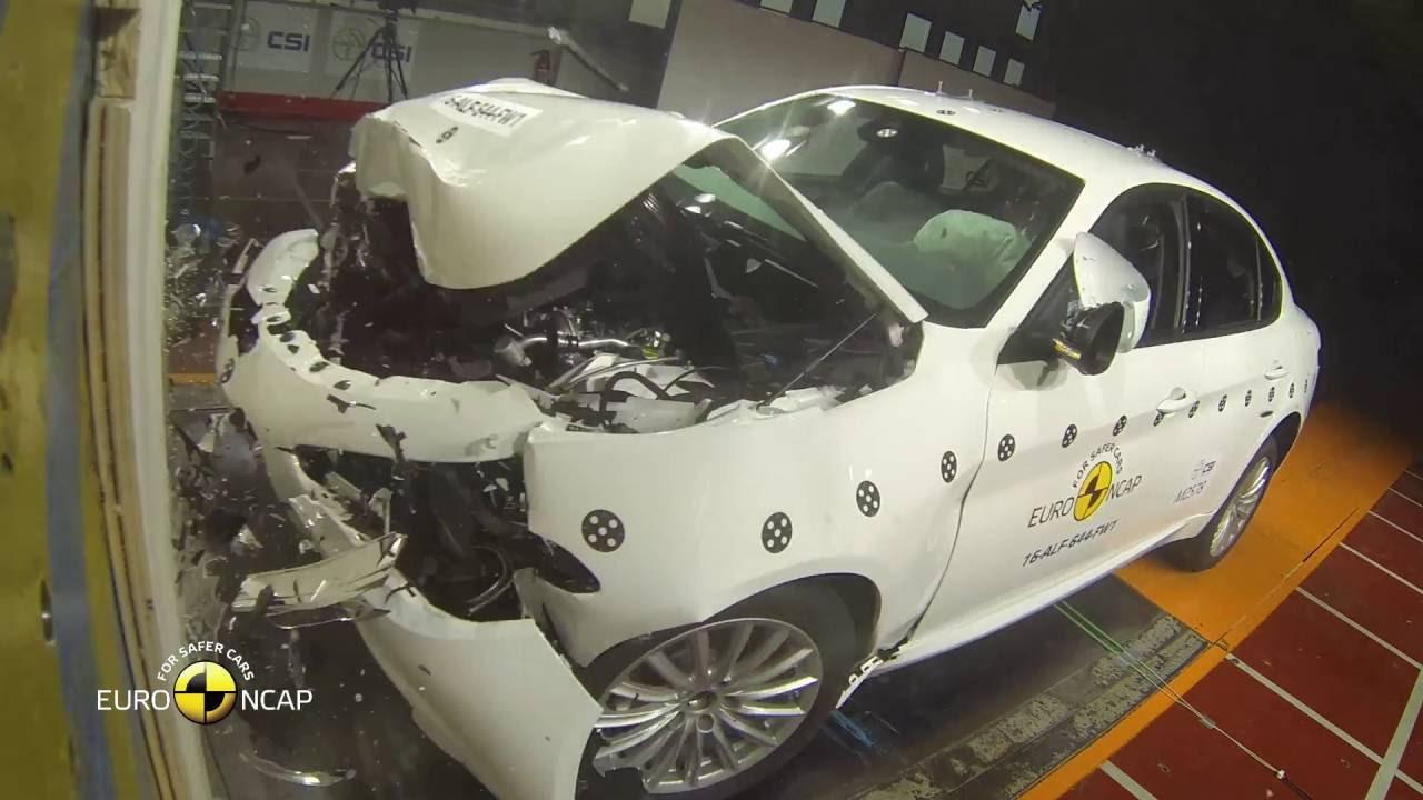 giulia1 Δες το crash test της Alfa Romeo Giulia