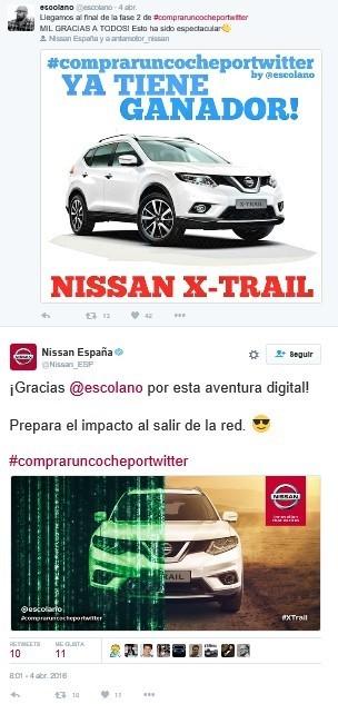 147848 1 5 Η Nissan πούλησε ένα X-Trail μέσω... twitter Nissan, Nissan X-trail, twitter, πωλήσεις, Τεχνολογία